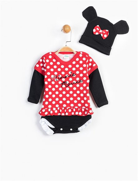 Disney Minnie Mouse Kostüm Body Takım 880