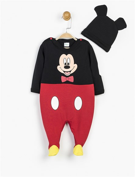 Disney Mickey Mouse Patikli Tulum ve Şapka 10455