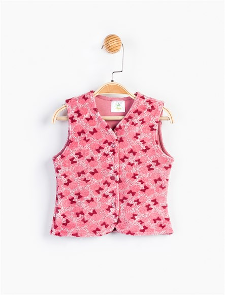 Disney Minnie Mouse Bebek Kadife Yelek 9179