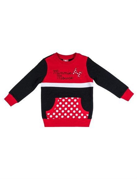 Disney Minnie Mouse Çocuk Sweatshirt 9466