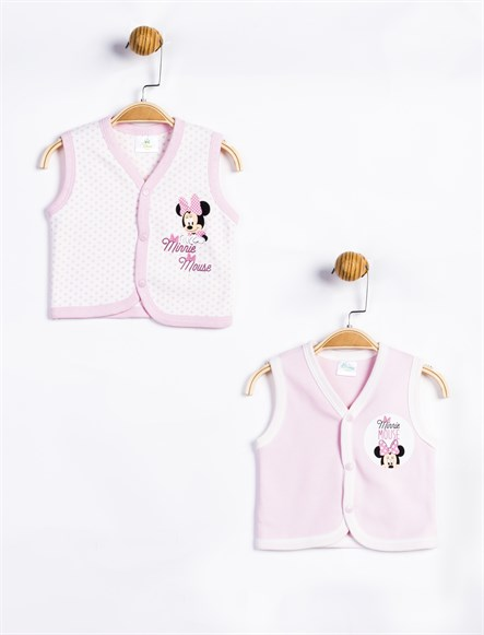 Disney Minnie Mouse Bebek 2li Yelek 11290