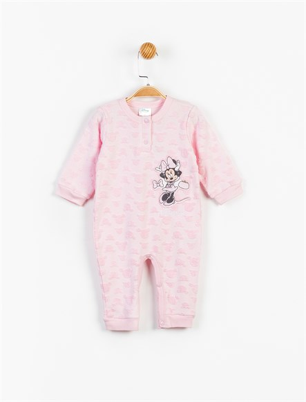 Disney Minnie Mouse Bebek Patiksiz Tulum 13452