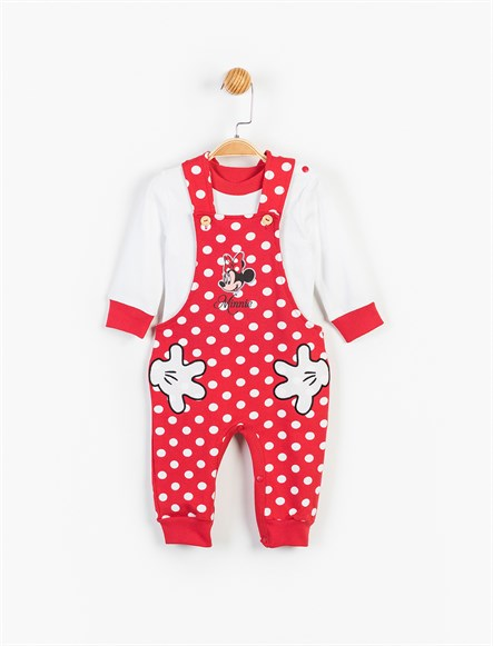 Disney Minnie Mouse Bebek Salopet Tulum 13469