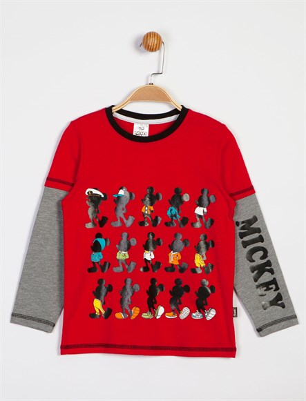 Disney Mickey Mouse Çocuk Sweat 6126