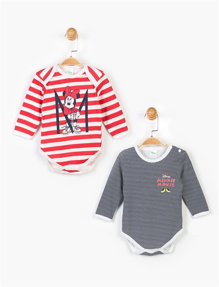 Disney Minnie 2li Uzun Kol Body 14635
